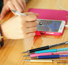 Touch Screen Pen 2in1 Writing Stylus Touch Screen Pen For iPhone Tablet trendy T