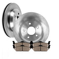 Rear Brake Rotors and Ceramic Pads BMW X5 X6 3.0si xDrive30i xDrive35d xDrive35i