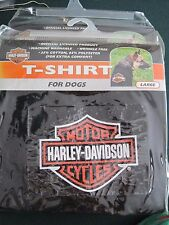 NEW in package: Harley Davidson Bar and Shield Dog T-Shirt Small. LRG, XL
