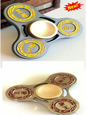 2017 King Finger Gyro Hollow Out Stress Relief Toy Fidget Spinner Game Tri Bar