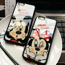 Fashion Cartoon Lovers Mickey Mouse Minnie cover soft TPU silicon case For iPhon