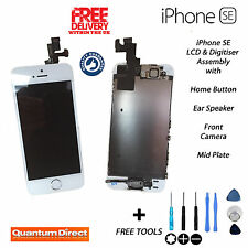 Complete Pre Assembled Retina LCD + Digitiser Touch Screen FOR iPhone SE WHITE