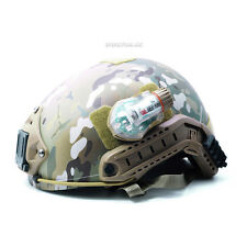 FMA Manta Strobe Tactical Helmet Survival Flash Light with Magic Tape Backed