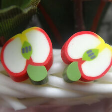 36 Pairs Cute Animal Flower Fruit Polymer Clay Women Ear Stud Earrings Great