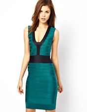BNWT French Connection Ribbon Knit New £140 Bandage Bodycon Party Evening Dress