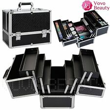 Extra Large Space Beauty Box Make up Nail Art Jewelry Cosmetic Vanity Case Gift