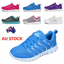 Women Breathable Running Trainers Walking Shock Absorbing Sport Shoes Sneakers