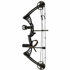 """SAS Scorpii 30-55 Lb 19-29"""" Compound Bow Package with Bow Stabilizer, Bow Sight"""