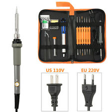 60W Electric Adjustable Temperature Welding Solder Soldering Iron Stand Tool Kit