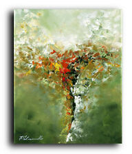 Canvas and Fine Art Prints #148 Contemporary Painting Modern Pop Green Abstract