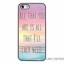 Ed Sheeran Lyrics From Song Phone Case Cover For iPhone / Samsung