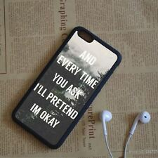 shawn mendes quotes fashion sillicon Case Cover for iPhone