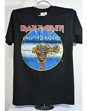 Vtg Iron Maiden Can I play with Madness T-shirt Black Mens S M L XL