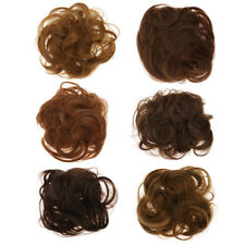 Synthetic Drawstring Hairpieces Wavy Messy Chignon Bun Updo Hair Extensions