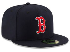 Boston Red Sox MLB Game Authentic On-Field 59FIFTY Fitted Cap - Dark Blue