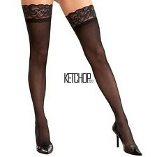 New Fashion Women Lace Decoration Long Sexy Knee Thigh High Boot Tights KECP01