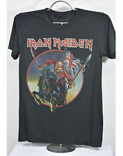 Iron Maiden concert t-shirt metal rock band tour vintage black new tee size M  L