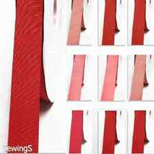 """Grosgrain Ribbon 1"""" / 25mm. Wholesale 100 Yards, Rose to Red s Color"""