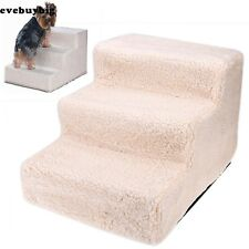 New Pet Stairs Portable 3 Steps Stairs Travel Dog Steps Pet Steps Stairs E45B01