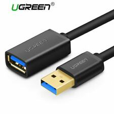 Ugreen USB 3.0 Cable Super Speed USB Extension Cable 2.0 Male to Female 0.5m 1m