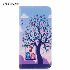 Case For iphone 6 6S 7 Plus Wallet Stand Flip Leather Bird Phone Accessories Owl