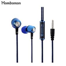 ME13 Earphones Cloth Line Wired In-Ear Stereo Noise Isolating with Microphone Vo