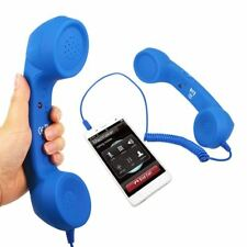 New Fashion 3.5mm Mic Retro Telephone Mobile Phone Handset Receiver For iPhone M