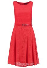 Wallis Red Lace Fit & Flare Skater dress - Uk Size 12 - 18 - New