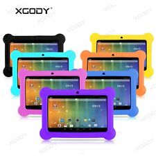 "7"" INCH KIDS ANDROID 4.4 TABLET PC 8GB QUAD CORE A7 HD WIFI CHILD CHILDREN XGODY"