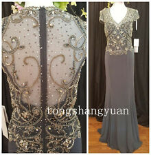 Stunning Beaded Mother of the Bride/Groom Dress Women Formal Evening Gown Custom