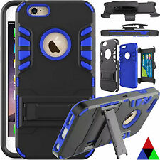 Hard Belt Clip Holster with Stand Tough Case Cover For Apple iPhone 5S/6S+/7/7+
