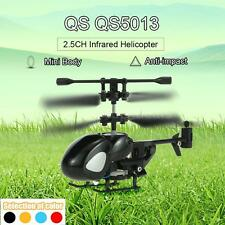 QS QS5013 2.5CH Helicopter RC Drone Aircraft with Gyroscope Micro Infrared W6Z3