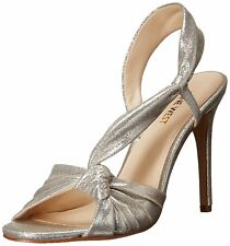 Nine West Womens Ultana Leather Open Toe Special Occasion Slingback Sandals