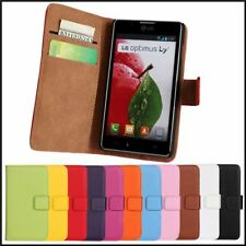 Leather Case For LG Optimus L7 II P700 P705 P710 P713  L5 II E460 Wallet Stand R