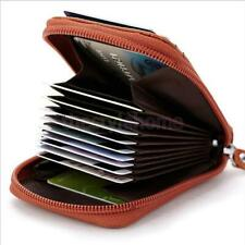 Mens Womens Genuine Leather Wallet Credit Cards Holder Organizer Purse Nice