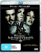 The Three Musketeers (2011) (3d Blu-ray/blu-ray) - BLR Region 4