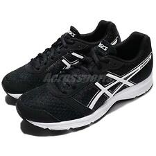 Asics Patriot 8 VIII Black White Women Running Shoes Trainers Sneaker T669N-9001