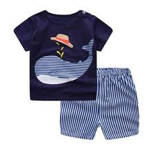 Baby Boy Clothes Summer Newborn Baby Boys Clothes Set Cotton Baby Clothing Suit