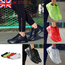 Men Lace Up Mesh Breathable Sport Sneakers Trainers Athletic Running Shoes Size