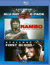 RAMBO: FIRST BLOOD/RAMBO: THE FIGHT CONTINUES NEW BLU-RAY