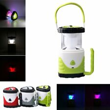 LED Camping Lantern Outdoor Tent Collapsible Portable Rechargeable Light Lamp