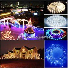 CONNECTABLE 10M 240LED OUTDOOR INDOOR ROPE TUBE LIGHT 8 FUNCTIONS CHASING STATIC