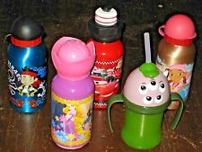 PICK 1 or MORE NEW Disney CUP BOTTLE SquishyHead Jake Pirates Rapunzel