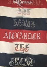 "NWT AUTHENTIC ALEXANDER MCQUEEN BRITANNIA ""ALEXANDER THE GREAT"" SCARF 100% SILK"