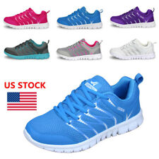 US Women's Athletic Breathable Sneakers Sport Casual Running Mesh Shoes Trainers
