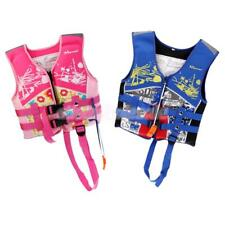 33-55lbs Kids Buoyancy Life Jackets Vest for Outdoor Kayaking Canoe Swimming