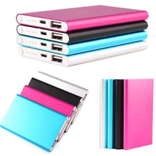 Ultrathin 5000mAh External Power Bank Backup Battery Charger iPhone Android NEW