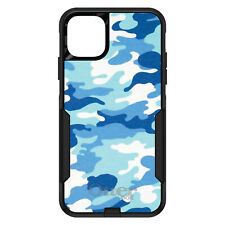 OtterBox Commuter for iPhone 5 SE 6 S 7 8 PLUS X Blue White Camouflage