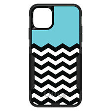 OtterBox Commuter for iPhone 5 SE 6 S 7 8 PLUS X Black White Blue Chevron