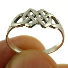 Celtic Knot Plain Silver Ring, MIX US SIZE, 925 Solid Sterling Silver, rp612